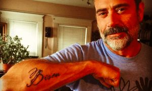 Jeffery Dean Morgan Memorializes The Pup He Saved With A Heartfelt Tattoo