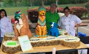 Texas Bakery Sets The World Record For Biggest Dog Cake!