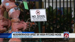 High-Pitched Noise Meant To Deter Pooping Dogs Annoys Neighbors Instead