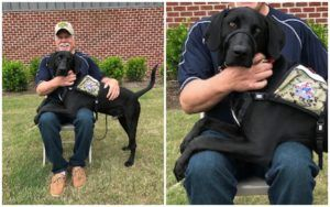 Thanks To Your Support, This Deserving Veteran Receives A Service Dog Who Turns His Life Around