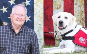 """Words Fail To Express My Gratitude For Her."" Veteran Thankful To Be Matched With Service Dog"