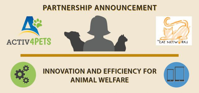 Activ4Pets Partners with The Cat Network, Inc