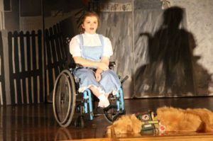 Service Dog and His Human Blow Audiences Away in N.J. High School's 'Wizard of Oz'