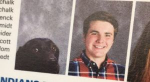 Service Dog Gets Included In High School Year Book And It's The Cutest Thing Ever