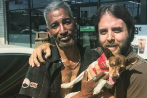 Grateful Owner Is Still Thanking Homeless Man Who Reunited Him With Lost Dog