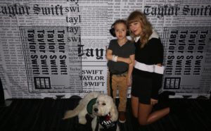Boy With Autism Meets Taylor Swift After She Helped Him Get A Service Dog