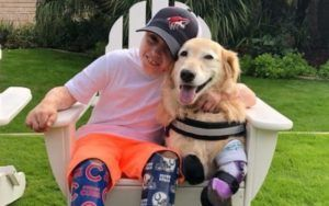 Boy Who Lost Both His Legs Finds A Kindred Spirit In A Dog Who Lost All 4