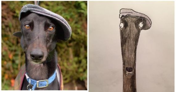"""""""Crappy Pet Portraits"""" A Smashing Success For Charity"""