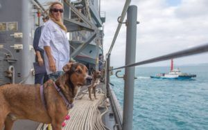 Two Women Survive Five Months Lost At Sea With Help From Their Faithful Dogs