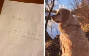 Boy Pens The Sweetest Sympathy Card To Teacher Mourning The Loss Of Her Dog