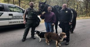 Horseback Rider And Her Dogs Rescue Little Girl Lost In Oregon Woods