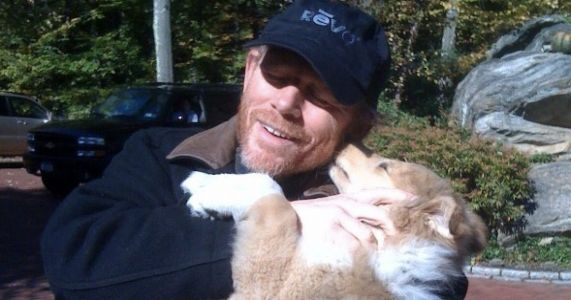After 13 Beautiful Years, Ron Howard Says Goodbye To His Collie