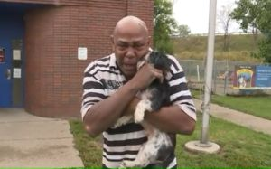 Man Tearfully Reunites With Therapy Dog Stolen During A Carjacking
