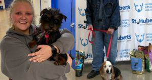 Your Help Flew Two Dogs To Their Second Chances At Life