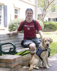From homeschool to Oxford with the help of an Assistance Dog