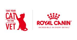Join Us and Royal Canin: National Take Your Cat to the Vet Day