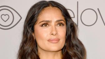 Salma Hayek Shares Beautiful Tribute After Beloved Rescue Dog Lupe Dies