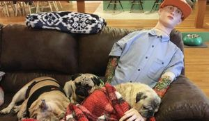 Doggy Retirement Home Finds A Hilarious Solution To Pup's Separation Anxiety