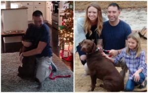 "Veteran Gained The Support Of A ""Doggie Buddy"" Thanks To Our Customers!"