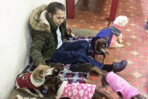 Rhode Island Rescue Helps Woman With Cancer Care For Her Four Senior Dogs