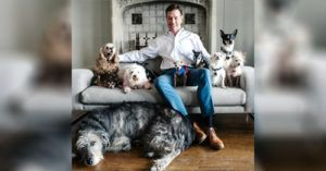 After Losing His Dog Man Goes To Shelter, Adopting All The Dogs Nobody Wanted