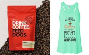 16 Products for People Who Love Dogs & Coffee