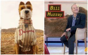 "Hear What Bill Murray Has To Say About His New Animated Movie, ""Isle of Dogs"""