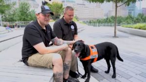 TSA Canine Meets The Son Of The 9/11 Hero He Was Named For