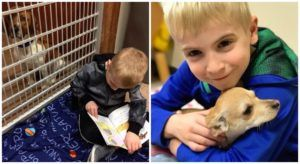 "Mom & Her 6-Year-Old Son Have Helped Hundreds Of ""Death Row"" Dogs Find Homes"