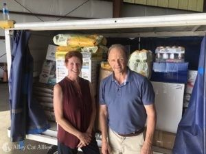 Alley Cat Allies Arrives in Gulf Coast with Plane of Supplies for Animal Rescue After Hurricane Ida