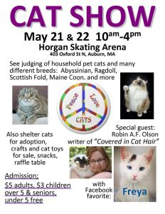 Come see us at the Cat Show!