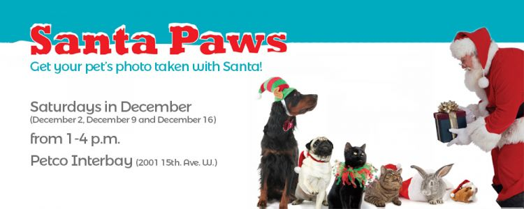 Santa Paws is coming to town