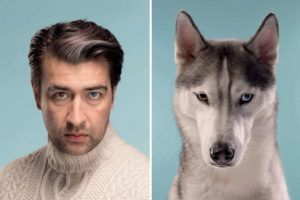 Do You Look Like Your Dog? Side-By-Side Photos Compare Humans And Their Pets