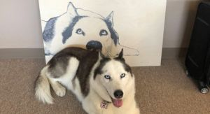 This Service Created an Unforgettable Way to Imprint Your Dog's Portrait on Wood