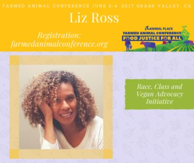 Liz Ross​, who co-founded the Vegan Advocacy Initiative