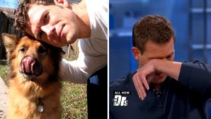 TV Doc Is Brought To Tears By Video Tribute To His Dog Of 17 Years