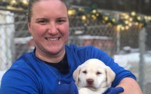 Athlete Thanks Dog Who Saved Her Life By Training Pup For Service