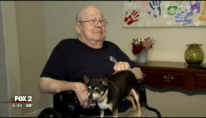 14-Year-Old Dog & His 81-Year-Old Human Save Woman's Life
