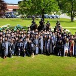 Veterinary students graduate from Tufts