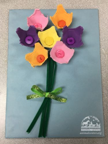 Recycled Bouquet Craft
