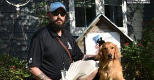 Shelter Dog Turned Service Dog Helps Marine Veteran Have A New Lease On Life