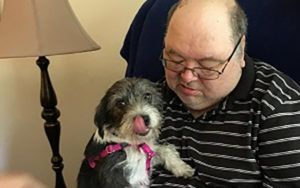 Abandoned Dog Finds New Home With Veteran