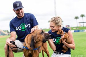 Actress & Athlete Combine Their Passions To Help Veterans & Homeless Dogs