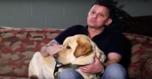 9/11 First Responder Receives Perfectly Named Service Dog, Valor