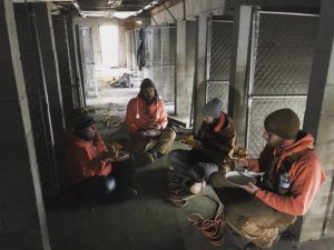 Rescue Rebuild Team Braves New England Winter to Build More Space for Shelter