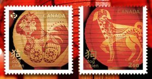 The World Celebrates Chinese Zodiac's Year Of The Dog With Cool Stamp Collections